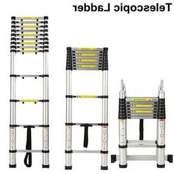 10.5-16.5FT Aluminium Multi-Purpose Extension Folding Ladder
