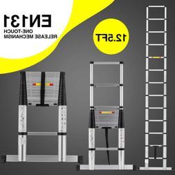 10.5 FT Multi Purpose Aluminum Ladder  Extend Telescopic Gar