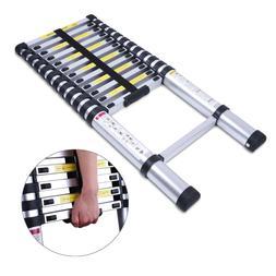 10.5FT Aluminum Multi-Purpose Telescopic Ladder Extension Lo