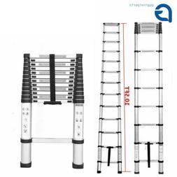 10.5FT Step Ladder Extension Telescoping Lightweight Portabl