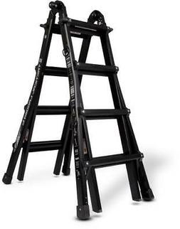 LITTLE GIANT 10102T Multipurpose Ladder,4 ft. 7,Aluminum