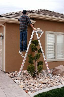 Little Giant Ladder Systems 10104 375Pound Rated Work Platfo