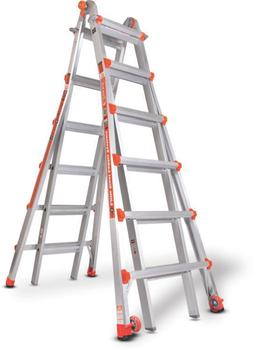 Little Giant 10126LG 300-Pound Duty Rating Ladder System, 26