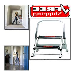 Little Giant Ladder Systems 10210BA Safety Step Stepladder w