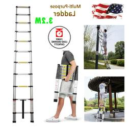 10ft5 Folding Step Aluminum Telescoping Collapsible Roof Cli