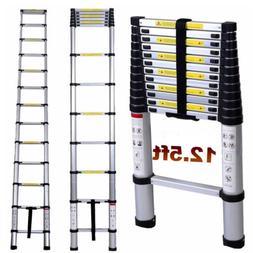 12.5FT Aluminium Multi-Purpose Telescopic Ladder Extension S