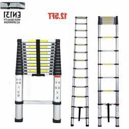 12 5ft aluminium multi purpose telescopic ladder