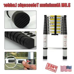 12.5Ft Aluminum Telescopic Extension Folding Step Multi-Use