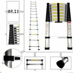 12.5FT Portable Telescopic Aluminium Ladder Caravan RV Parts
