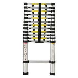 12.5FT Step Ladder Extension Telescoping Lightweight Portabl