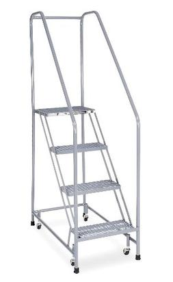 Cotterman - 1204R1820A2E12B3C1P6 - 4-Step Rolling Ladder, Ru