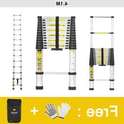 13.45FT / 16.5FT Aluminum Telescopic Ladder Extension Multi