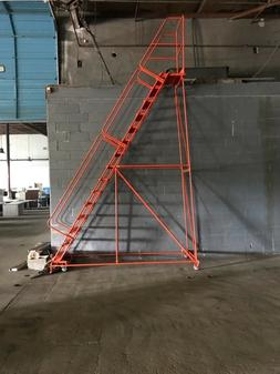 Ballymore 15 step rolling ladder