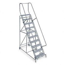 Cotterman - 1509R2632A1E20B4C1P6-9-Step Rolling Ladder, Expa