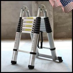 16.5FT Aluminium Multi-Purpose Telescopic Ladder Extension S