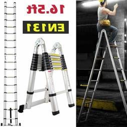 16 5ft step extension portable telescoping lightweight