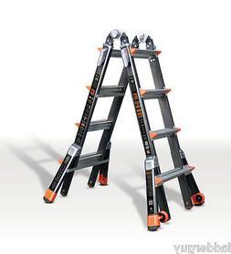 Dark Horse 300-Pound Duty Rating Fiberglass Multi-Use Ladder
