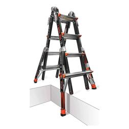 Little Giant 17 Dark Horse Multi-Use Fiberglass Ladder with