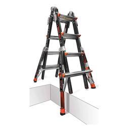 Little Giant 22 Dark Horse Multi-Use Fiberglass Ladder with