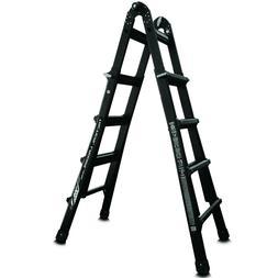 Little Giant 17 Foot Folding Multi Position Aluminum Ladder