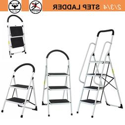 2 3 4 step ladder folding stool
