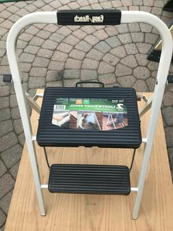 2 step lightweight stool secure and stable