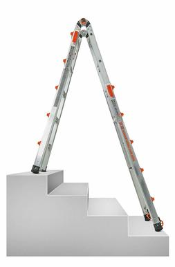 Little Giant 22-Foot Velocity Multi-Use Ladder 300 Pound Dut