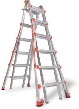 Little Giant 10126LG 300-Pound Duty Rating Ladder System, 26