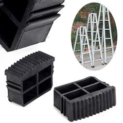 Rubber Non Slip Replacement Step Ladder Feet Foot Cover Mat
