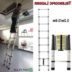 3.2M 3.8M Extension Telescopic Ladder Steps Stabilizer Bar W