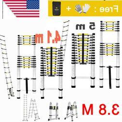 3.8M 4.1M 5M Aluminum Multi Purpose Ladder Extension Folding