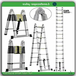 3.8m Ladder Step Extension Telescoping Lightweight Portable