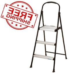 Cosco 3-step Folding Stool with Rubber Hand Grip - FREE SHIP