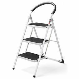 Step Ladder Folding Step Stool Lightweight Stepladders Anti-