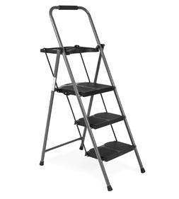 3 Step Ladders Best Choice Folding Stool, Wide Platform, 330