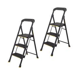 Gorilla Ladders 3-Step Steel Pro Grade Step Stool 300 lbs He