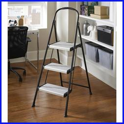 3 wide step folding step stool
