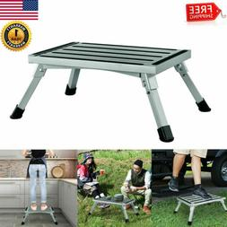 331 lbs Aluminum Step Up Folding Work Platform Bench Drywall