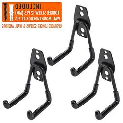 3pcs Garage Hanger Hooks for Hanging Ladder Hose Extension C