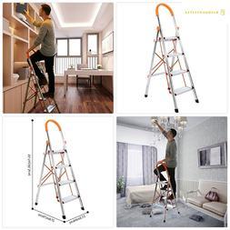 Lifewit 4-Step Stool Ladder Portable Folding Anti-Slip with