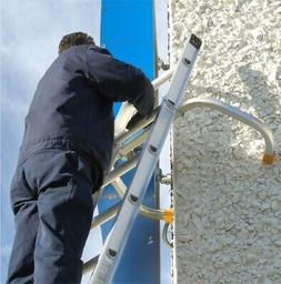 Roof Zone Extension Ladder Stabilizer