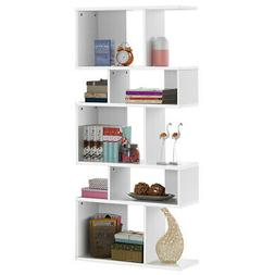 5 Cubes Ladder Shelf Special Outlook Home Corner Display Rac