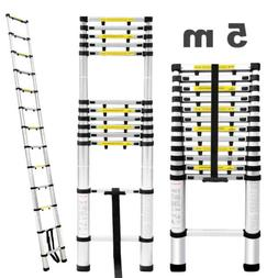 16.4FT Aluminum Step Ladder Extension Telescoping Multi-Use