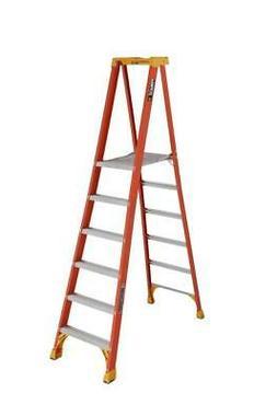 Louisville Ladder 6 Foot Fiberglass Pinnacle Platform Step L