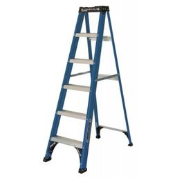 Louisville Ladder 6 ft. Fiberglass Slip-resistant Step Ladde