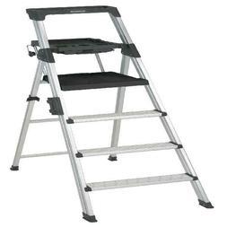 Cosco 6 ft. Signature Series Aluminum Folding Step Ladder wi