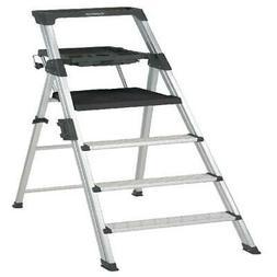 6 ft. Signature Series Aluminum Folding Step Ladder W/ Leg L