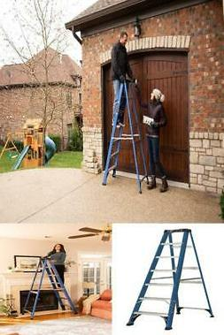 Louisville Ladder 7-Foot Fiberglass Step Ladder, 225-Pound C
