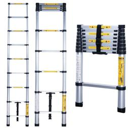 8.5/10.5/12.5/15.5 FT Telescoping Ladder Telescopic Extensio