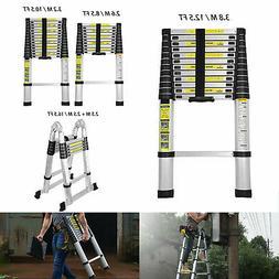 8.5 10.5 12.5 16.5FT Aluminum Multi-Purpose Telescopic Ladde